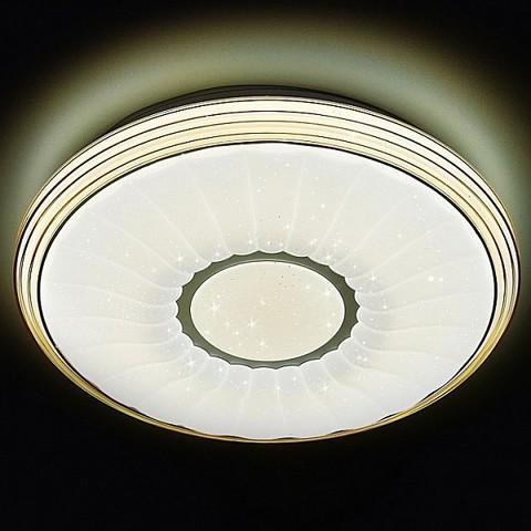 Потолочный светодиодный светильник с пультом F11 CF 72W 400*400*85 (ПДУ ИК)