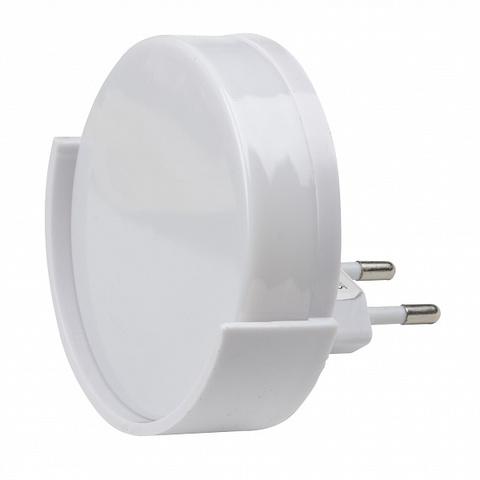 DTL-316 Круг/White/Sensor Светильник-ночник. С фотосенсором (день-ночь). Белый. ТМ Uniel