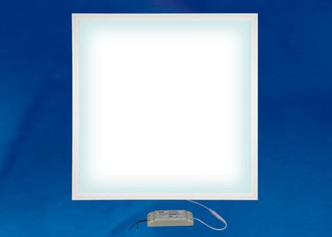 ULP-6060-42W/4000K EFFECTIVE WHITE Светильник светодиодный потолочный встраиваемый. Белый свет (4000K). Корпус белый. В комплекте с и/п. ТМ Uniel.