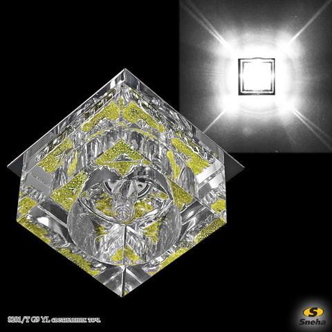 8201/T G9 YL светильник точ.