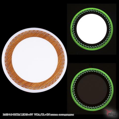 24618-9.0-001TM LED18+6W WDA/DL+GN панель светодиодная