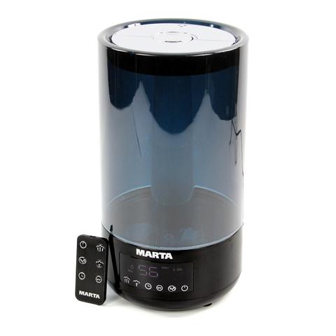 Увлажнитель воздуха MARTA MT-2698 черный жемчуг