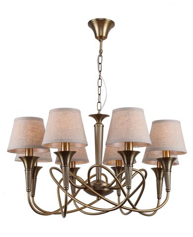 Подвесной светильник Escada 656/8S E14*40W Antique brown