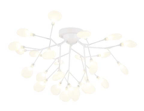 Потолочная люстра TR3011/27 WH/FR белый/матовый G4*27 max 20W D730*430 (лампы LED G4 1.5W 4200K в комплекте)