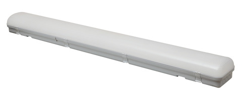 ULY-K70A 40W/5000K/L126 IP65 WHITE Светильник светодиодный промышленный. Белый свет (5000К). 4360Лм. 1260X150x100мм. Корпус белый. TM Uniel.