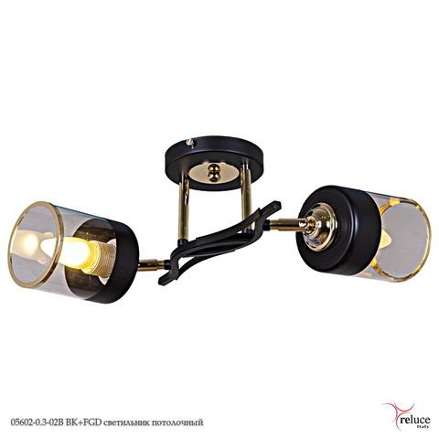 05602-0.3-02B BK+FGD светильник потолочный