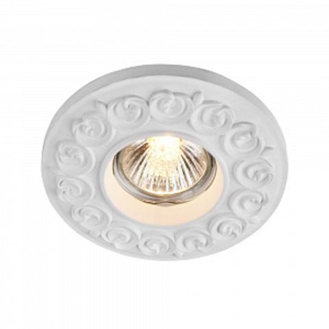 Встраиваемый светильник Gyps Classic DL279-1-01-W. ТМ Maytoni