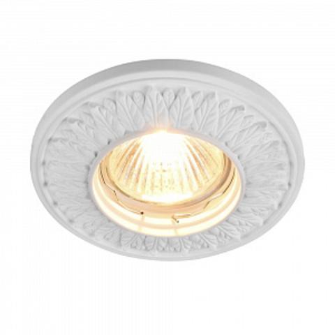 Встраиваемый светильник Gyps Classic DL280-1-01-W. ТМ Maytoni