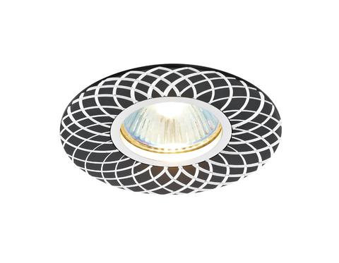 Встраиваемый потолочный точечный светильник A815 BK/AL сатин/черный MR16