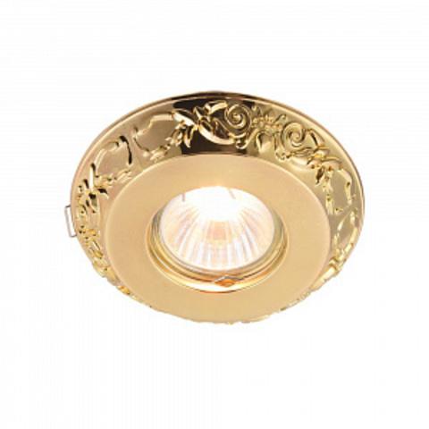 Встраиваемый светильник Metal Classic DL300-2-01-G. ТМ Maytoni