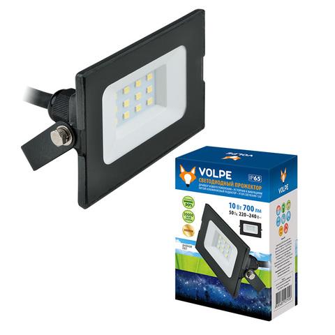 ULF-Q513 30W/DW IP65 220-240В BLACK Прожектор светодиодный. Дневной свет(6500К). Корпус черный. TM Volpe.