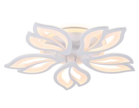 Потолочный светодиодный светильник с пультом FA543/5 WH белый 104W 580*560*80 (ПДУ РАДИО 2.4)