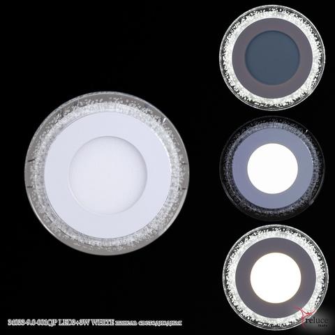 34033-9.0-001QP LED3+3W WHITE панель светодиодная