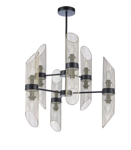 Потолочный светильник Escada 527/12P E14*60W Black