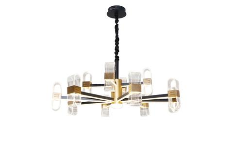 Потолочный светильник Escada 10235/12 LED*180W Gold/Black