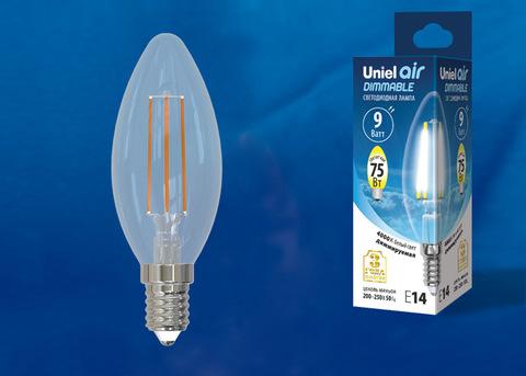 LED-C35-9W/4000K/E14/CL/DIM GLA01TR Лампа светодиодная диммируемая. Форма