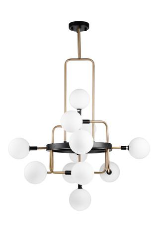 Потолочный светильник Escada 1146/12P G9*40W Brass/Black