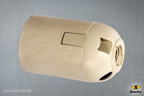 Патрон для лампы Е27, Lamp holder E27 G10