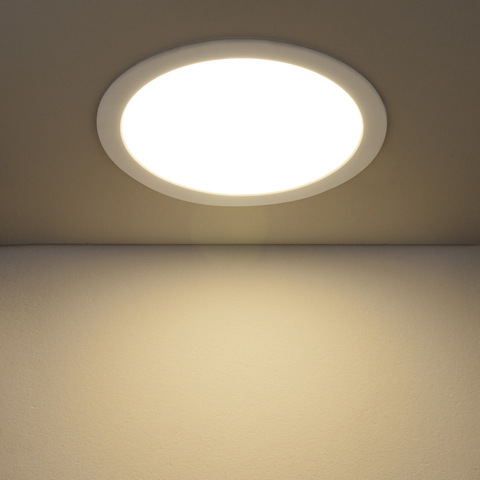Встраиваемый светодиодный светильник DLR003 24W 4200K