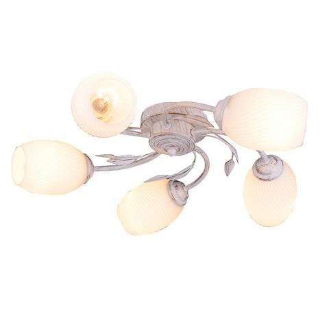 Потолочный светильник LILY 1118/5P 5хЕ27х60W бел ESCADA