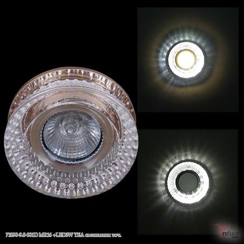 71090-9.0-001D MR16 +LED3W TEA светильник точ.