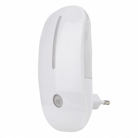 DTL-318 Сказка/White/Sensor Светильник-ночник. С фотосенсором (день-ночь). Белый. ТМ Uniel