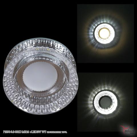 71090-9.0-001D MR16 +LED3W WT светильник точ.
