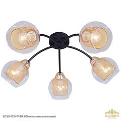 IL7163-5CIN-79 BK GD светильник потолочный