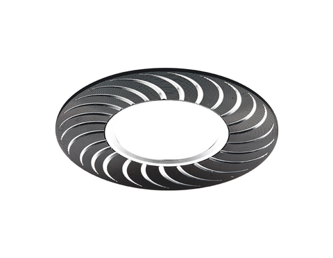 Встраиваемый потолочный точечный светильник A720 BK/AL сатин/черный