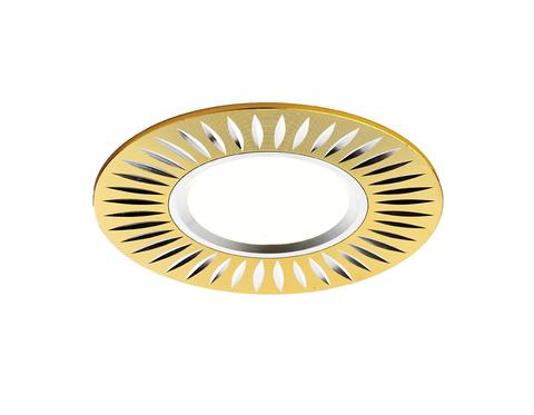 Встраиваемый потолочный точечный светильник A507 GD/AL золото/алюминий MR16
