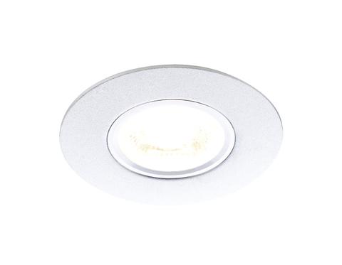 Встраиваемый потолочный точечный светильник A500 SL серебро