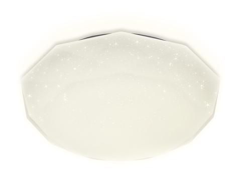 Потолочный светодиодный светильник с пультом FF17 WH белый 48W 400*400*75 (ПДУ ИК)