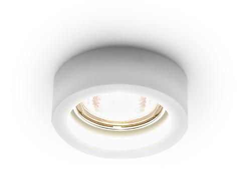 Встраиваемый точечный светильник D9160 MILK белый MR16 H25 D90 mm