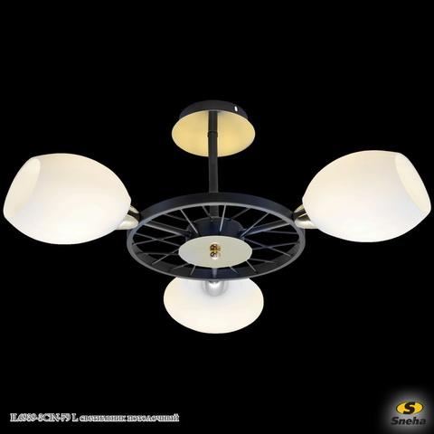 IL6939-3CIN-79 BK GD светильник потолочный