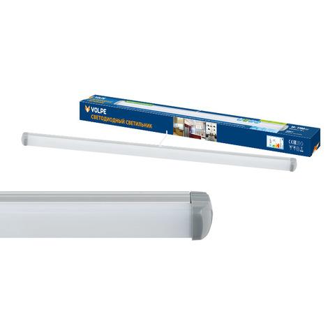 ULO-Q141 AL60-18W/NW SILVER Светильник светодиодный накладной ТМ Volpe. Белый свет. Цвет серебристый.
