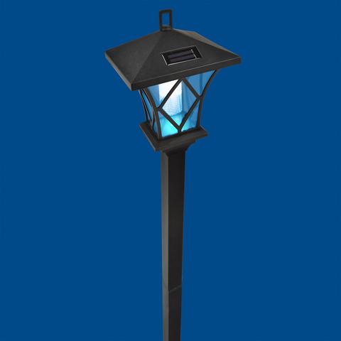 USL-S-185/PM1550 RETRO Садовый светильник на солнечной батарее «Ретро». 2 светодиода. Белый свет. 1*АА Ni-Mh аккумулятор в/к. IP44. TM Uniel