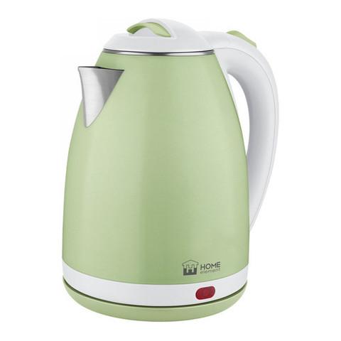 Чайник металлический HOME ELEMENT HE-KT193 зеленый нефрит