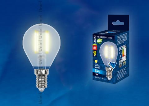 LED-G45-6W/WW/E14/FR PLS02WH Лампа светодиодная. Форма